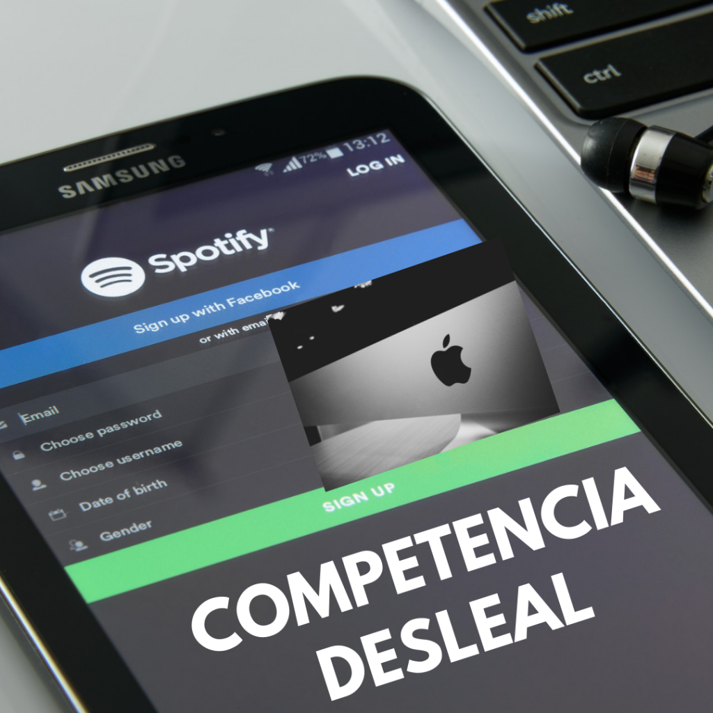 Spotify-demanda-Apple
